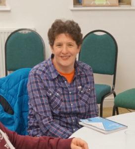 Bildet viser Brampton NYC- leder, Ruth Hutchinson