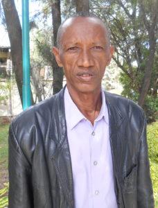 Bildet viser presten Tamiru Tadesa Muleta