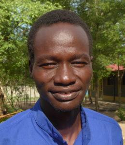 Bilder viser Rev. Jeremiah Maet fra Gambela, Etiopia