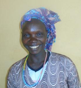 bildet viser en etiopisk kvinne med hodeplagg