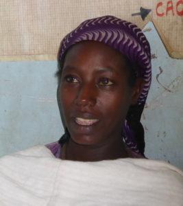 bildet viser ei ung etiopisk kvinne