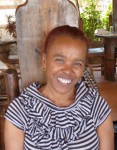 bildet viser den kvinnelige, nye feltkoordinatoren