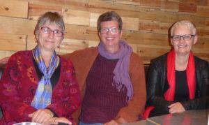 bildet viser 3 damer