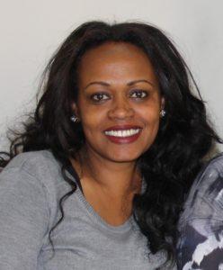 Und etiopisk dame (portrett)