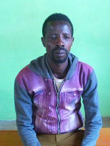 Bildet viser en etiopisk mann