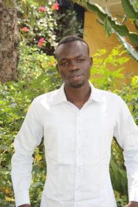 Bildet viser en ung mann fra Etiopia