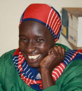 Bildet viser en ung kvinne fra Etiopia