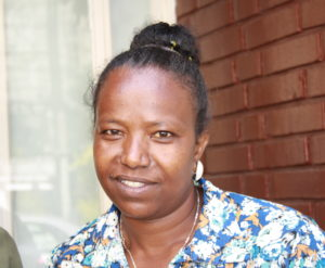 Kvinnelig teologi student fra Gimbi