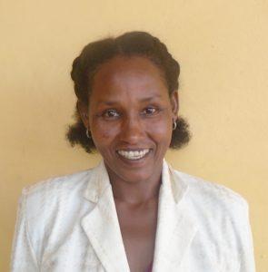 Bildet viser kvinneambassadøren Dinsiri Banti