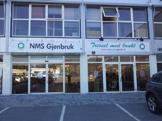 NMS Gjenbruk Kristiansand fasade