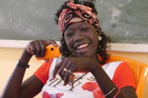 Ung dame fra Etiopia